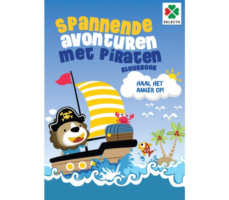 Selecta Kleurboek Spannende Avonturen met Piraten