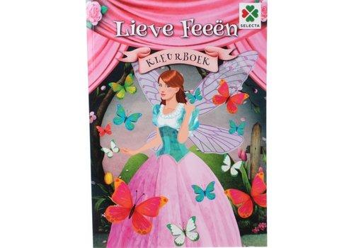 Selecta Selecta Kleurboek Lieve Feeën