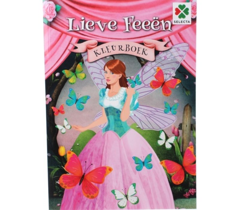 Selecta Kleurboek Lieve Feeën