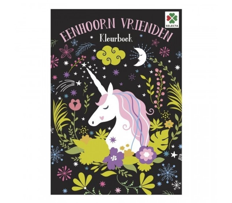 Selecta Colouring Book Unicorn Friends