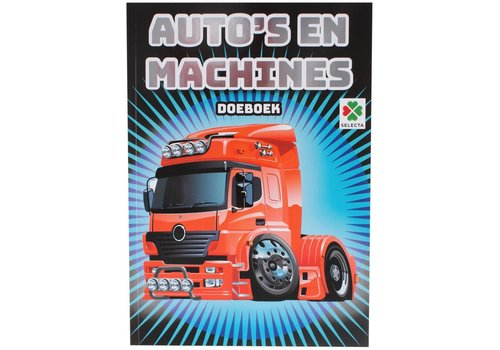 Selecta Selecta Activity Book Cars and Machines