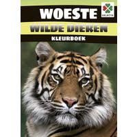 Selecta Kleurboek Woeste Wilde Dieren