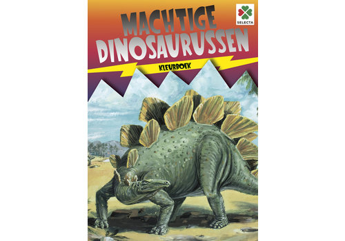 Selecta Selecta Coloring Book Powerful Dinosaurs
