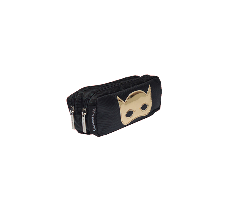 Caramel & Cie Pennenzak Masker Zwart