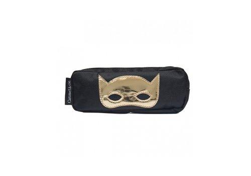 Caramel & Cie Caramel & Cie Pencil Case Mask Black