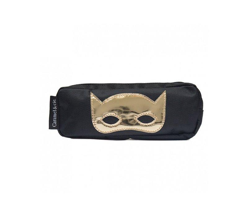 Caramel & Cie Pencil Case Mask Black
