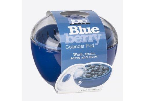 Cookut Joie Blueberry Voorraaddoos met Vergiet Blauw 12 cm