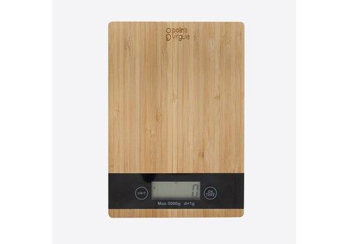 Point-Virgule Point Virgule Keukenweegschaal Bamboe 5kg