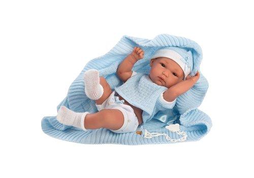 LLorens LLorens Babypop Bimbo Toquilla Celeste 35 cm
