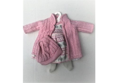 LLorens LLorens Dolls Clothes Winter Rose 35 cm