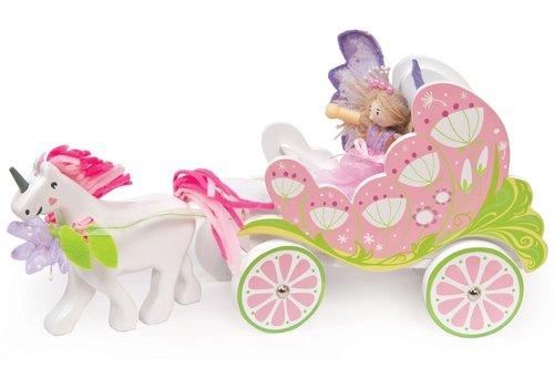 Le Toy Van Le Toy Van Fairybelle Carriage with Unicorn
