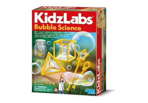 4M 4M Kidzlabs Bubble Science