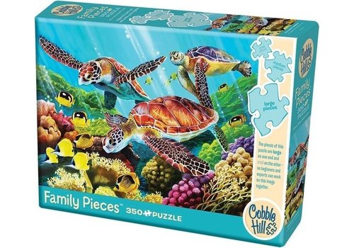 Cobble Hill Cobble Hill Family Puzzle Molokini Current 350 Pieces