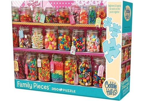 Cobble Hill Cobble Hill Family Puzzle  Candy Counter 350 Pieces