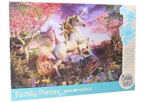 Eureka Cobble Hill Family Puzzle Realm Of The Unicorn 350 Pieces