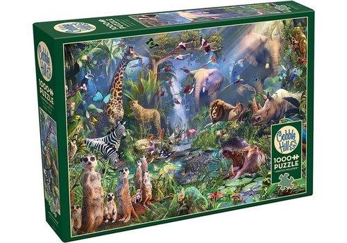 Cobble Hill Cobble Hill Puzzel Into the Jungle 1000 Stuks