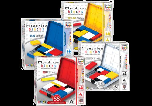 Eureka Eureka! Ah!Ha Logic Thinking Puzzle Mondrian Blocks Red
