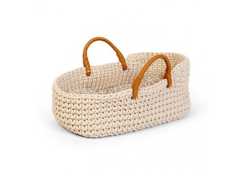 By Astrup By Astrup Knitted Doll Basket 35 cm