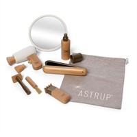 By Astrup Wooden Hairdresser set in Bag 9-piece
