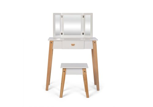 By Astrup By Astrup Wooden Children's Dressing Table with Stool
