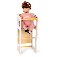 By Astrup Wooden High Chair 2 in 1