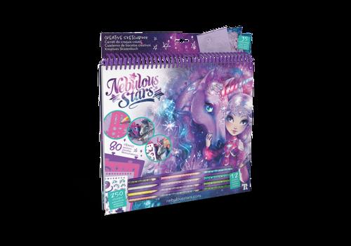 Nebulous Stars Nebulous Stars Creatief Schetsboek Fantastische Paarden Space