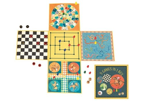Egmont Toys Egmont Toys 5 Spellen in 1 Doos