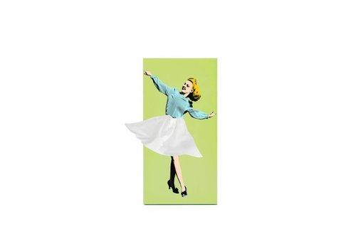 Luf Design Spextrum Tissue Up Girl Groen