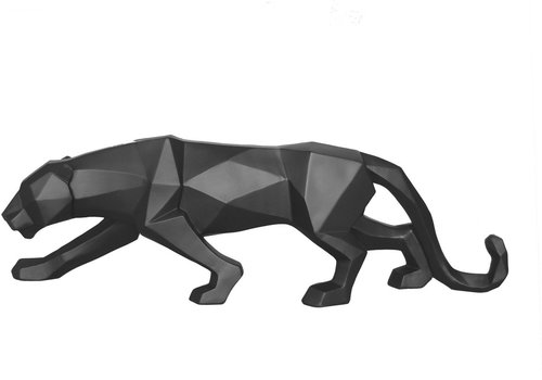 Present Time Present Time Origami Statue Panther Black 48 cm