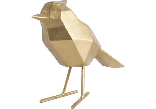 Present Time Present Time Origami Beeld Vogel Goud Large