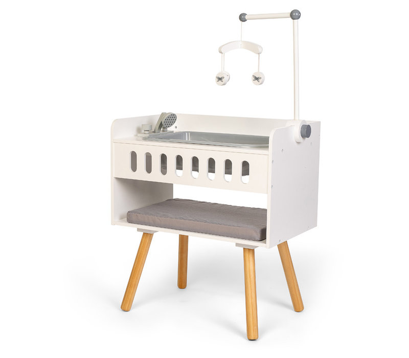 By Astrup Wooden Doll Changing Table with Bath