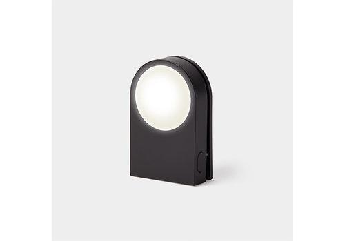 Lexon Lexon Lucie Draagbare LED Clip Zwart