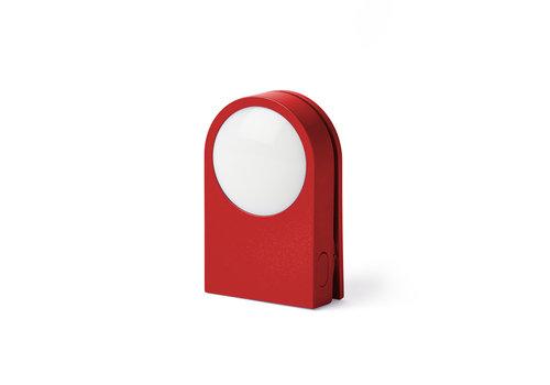 Lexon Lexon Lucie Wearable LED Clip Red