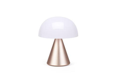 Lexon Lexon Mina M Draagbaar LED Licht Draadloos Oplaadbaar Soft Gold