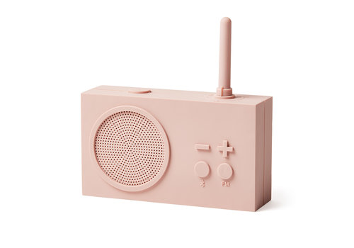 Lexon Lexon Tykho 3 Bluetooth Speaker & FM Radio Pink