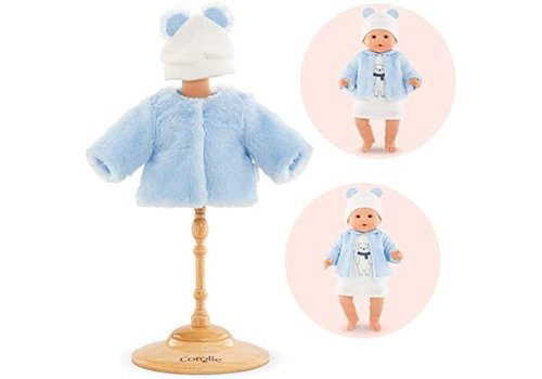 Corolle Corolle Winter Jacket with Hat Winter Sparkle 36 cm