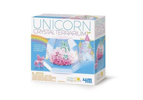 4M 4M Science in Action Crystal Growing Unicorn Terrarium