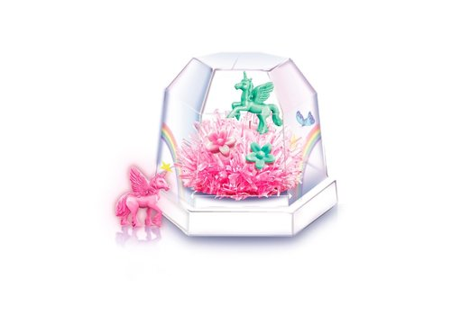 4M 4M Science in Action Crystal Growing Unicorn Terrarium