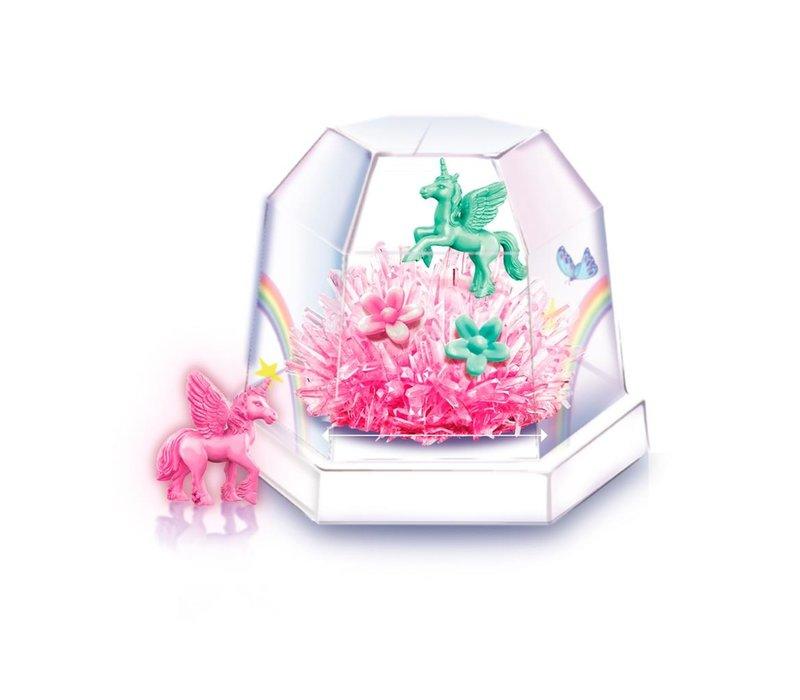 4M  Science in Action Crystal Growing Eenhoorn Terrarium