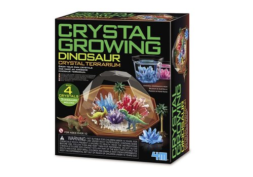 4M 4M  Science in Action Crystal Growing Dino Terrarium