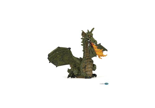 Papo Papo Green Winged Dragon with Flame