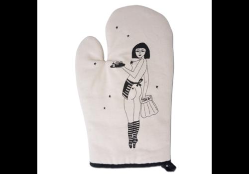 Helen B Helen B Oven Gloves Pin-Up Cake Girl