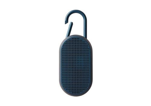 Lexon Lexon Mino T Bluetooth Luidspreker met Geïntegreerde Karabijnhaak Blauw