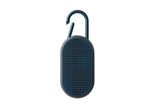 Lexon Lexon Mino T Bluetooth Speaker With integrated Carabiner Blue