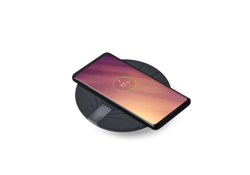 Lexon Lexon Bali 2 in 1 Wireless Charger with Built-in Power Bank 5000 mAh Black