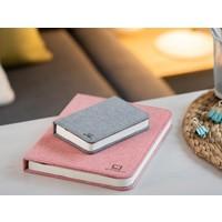 Gingko Booklight SM Fabric Grey