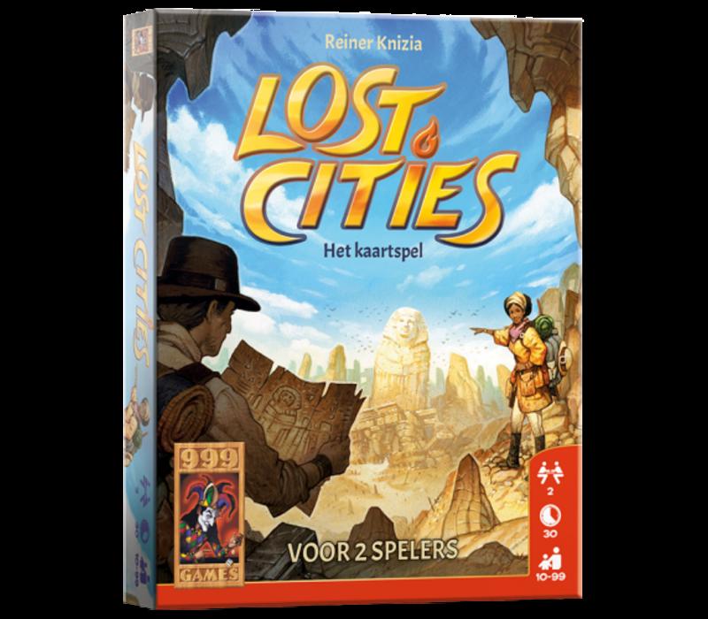 999 Games Lost Cities Het Kaartspel