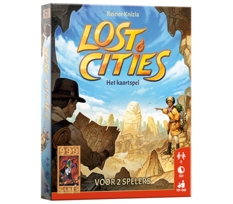 999 Games Lost Cities The Card Game