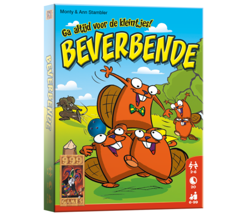 999 Games beaver gang The Card Game