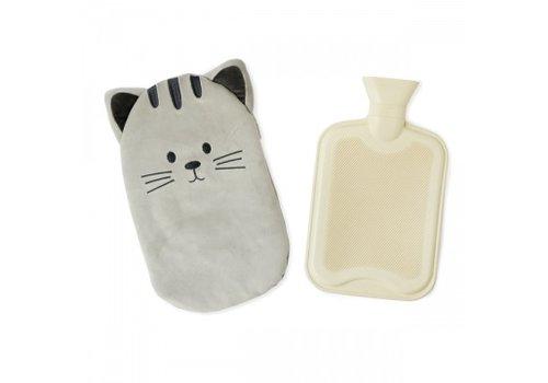 Balvi Balvi Hot Water Bottle Cat Grey